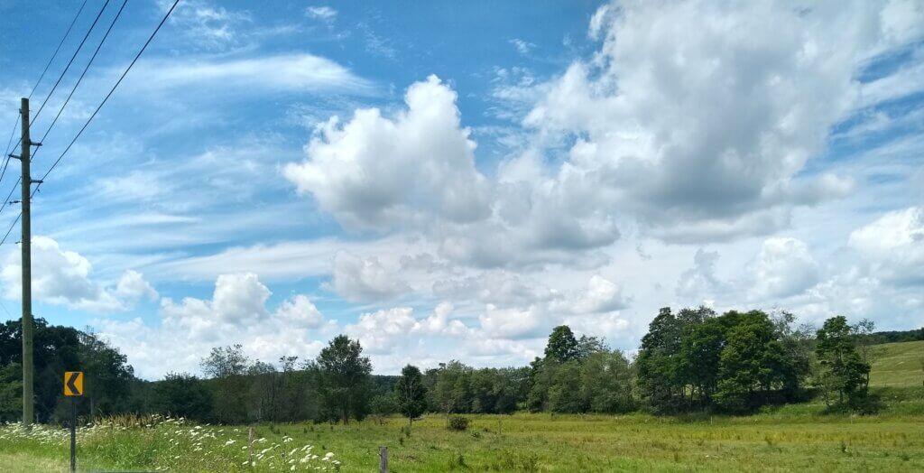 Summer Clouds Chestnut Ridge Jean T