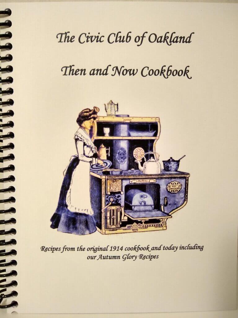 civic club cookbook post 12-9-20