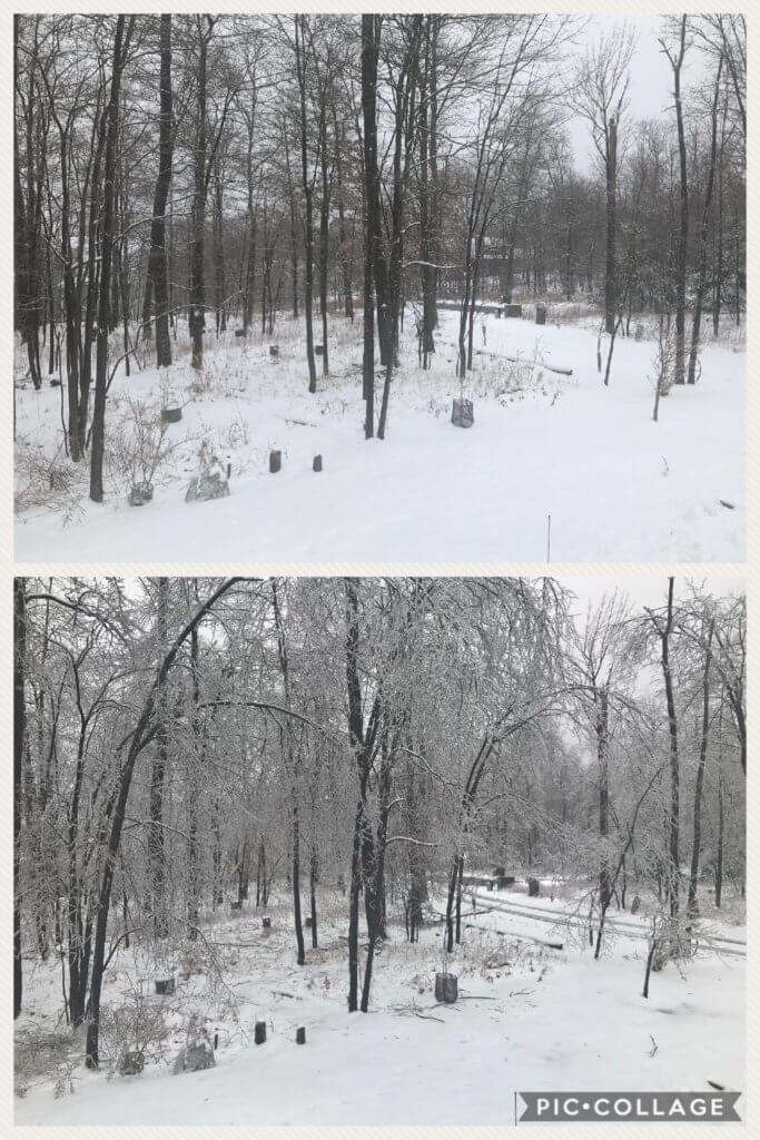 Ice Before and After in Swanton MD