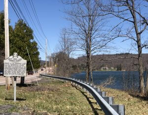 Deep Creek Lake Marker