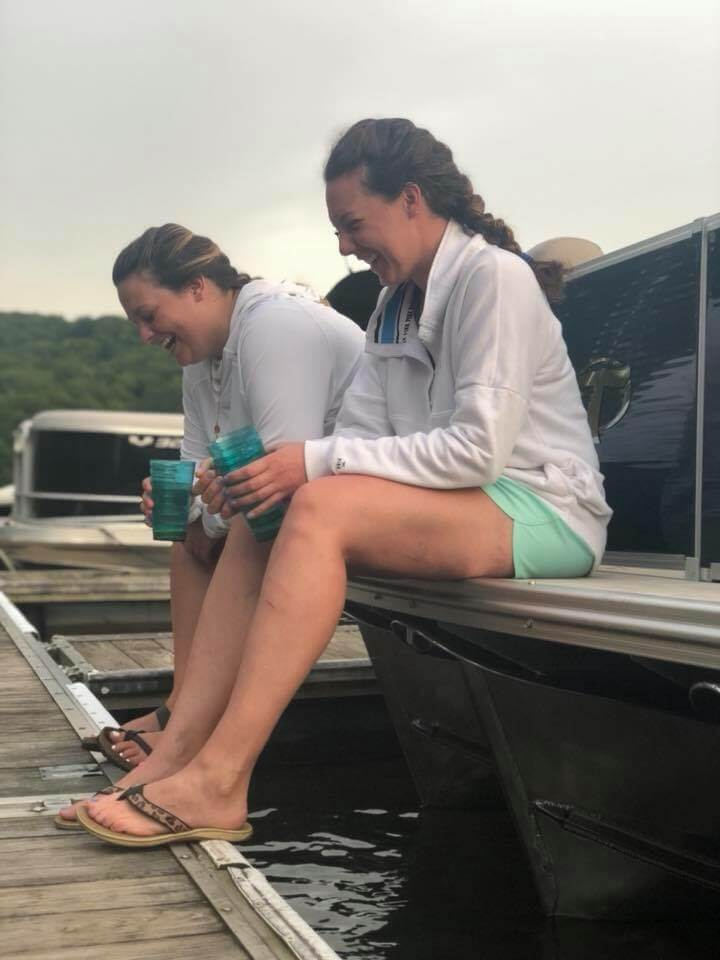 Laughing at Deep Creek Lake, MD