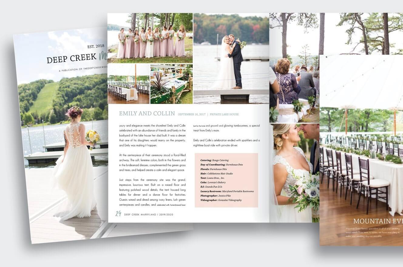 Deep Creek Marry-land Magazine Published by The Deep Creek Wedding