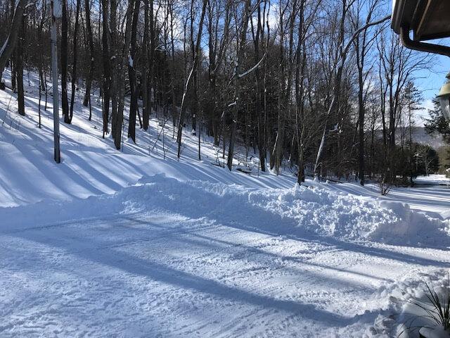 Dot Sisler Snowfall at Deep Creek Lake, MD