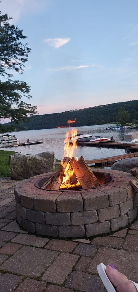 Ian Morlok at Deep Creek Lake, MD