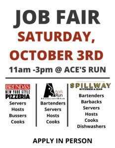 Oct 3 Job Fair