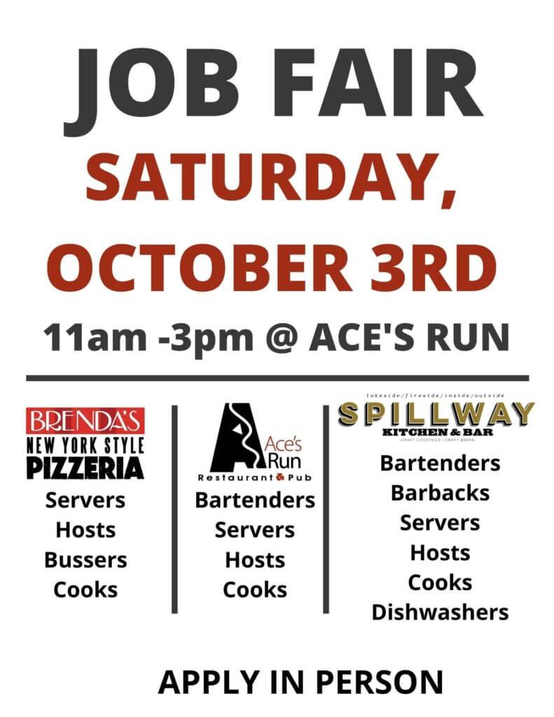 Oct 3 Job Fair