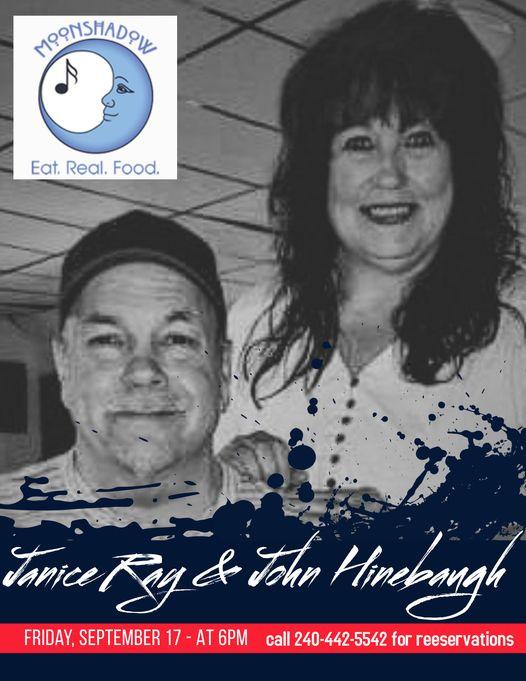 Janice Ray & John Hinebaugh at MoonShadow
