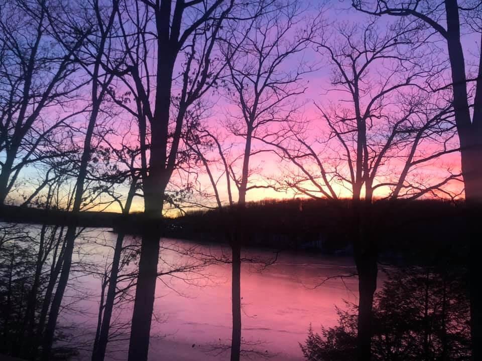 Jenn Sherman Sunset at Deep Creek Lake, MD