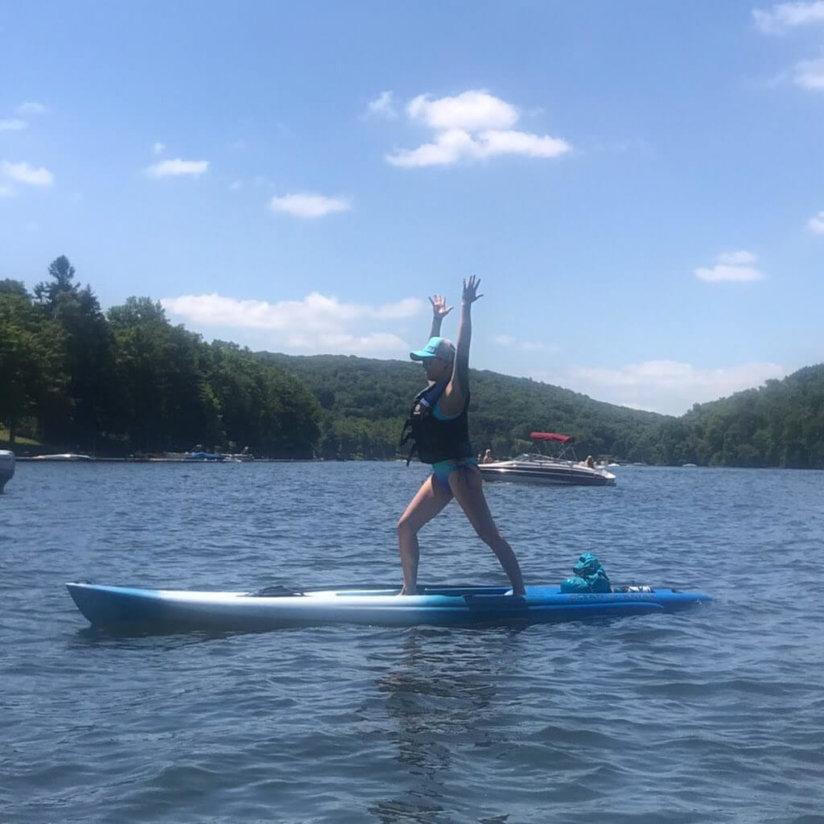 Jenny Dayton Yoga on Deep Creek Lake, MD