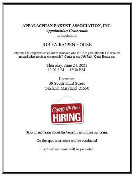 Job Fair/Open House