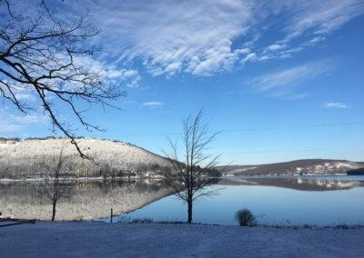 Joyce McEwen Reflective Morning at Deep Creek Lake,MD