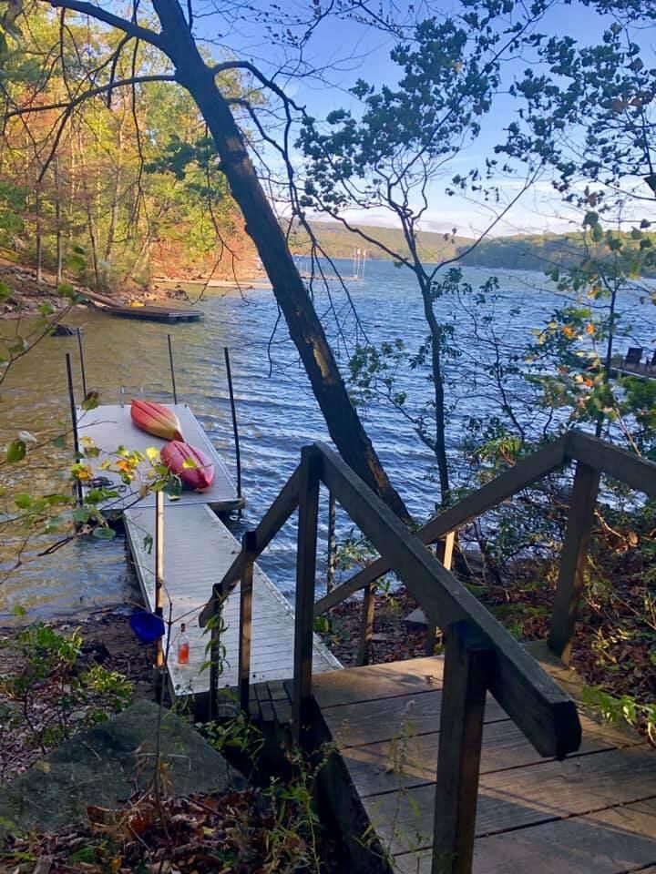 Karen Waddington Minzenberger at Deep Creek Lake, MD