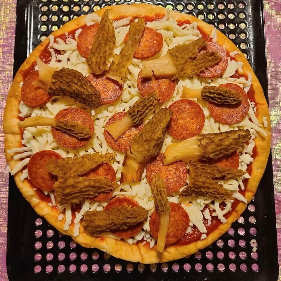 Kaylen Holler Morel Pizza at Deep Creek Lake, MD