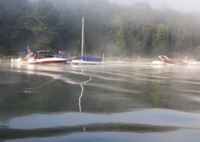 Kellie Zbignewich Boats at Deep Creek Lake