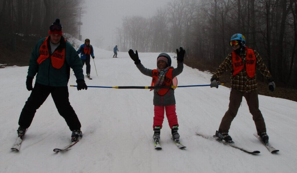 LIONS blind skiers 1-25-21