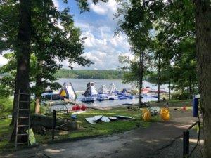 Last Lake Day Before School Starts at Deep Creek Lake, MD
