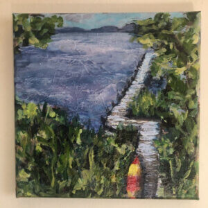 Lauren Kaplan Rutley Artist at Deep Creek Lake, MD