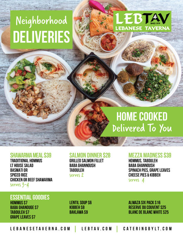 Lebanese Taverna Neighborhood Deliveries