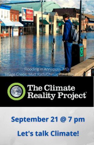 Let's Talk About the Climate Crisis (Online)