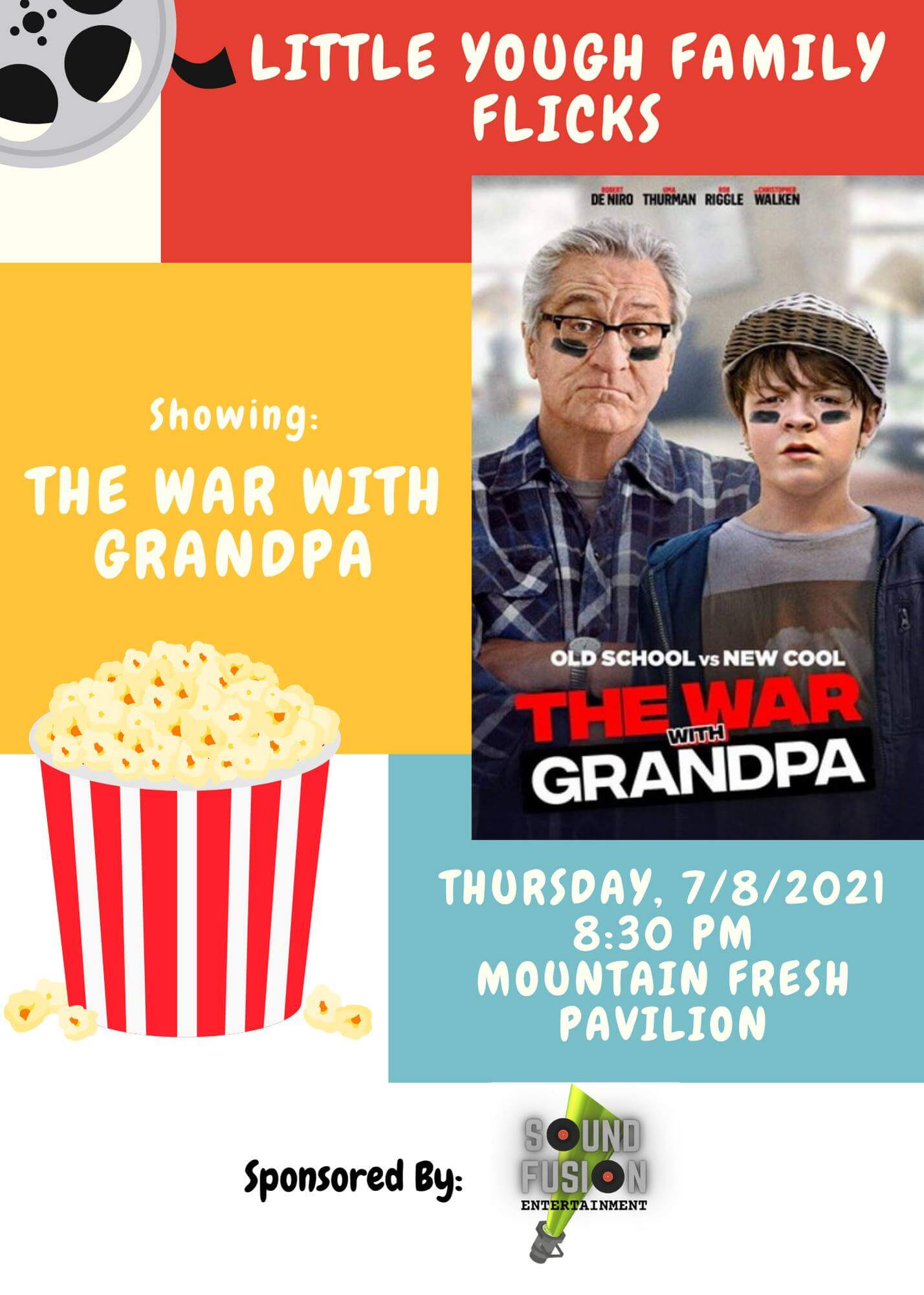 Little Yough Family Flicks - The War With Grandpa