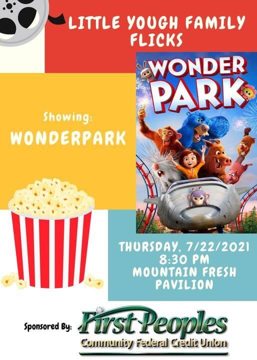 Little Yough Family Flicks: Wonder Park