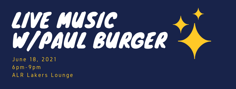 Live Music with Paul Burger