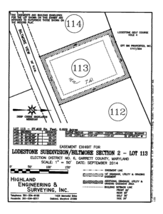 Lodestone Lot 113 at Deep Creek Lake, MD For Sale