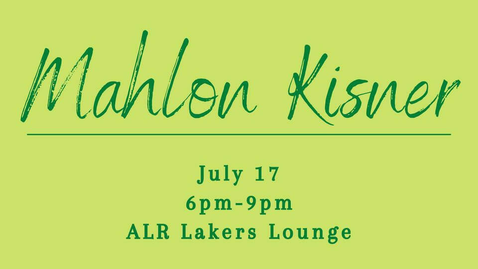 Mahlon Kisner at Alpine Lake Resort's Lakers Lounge