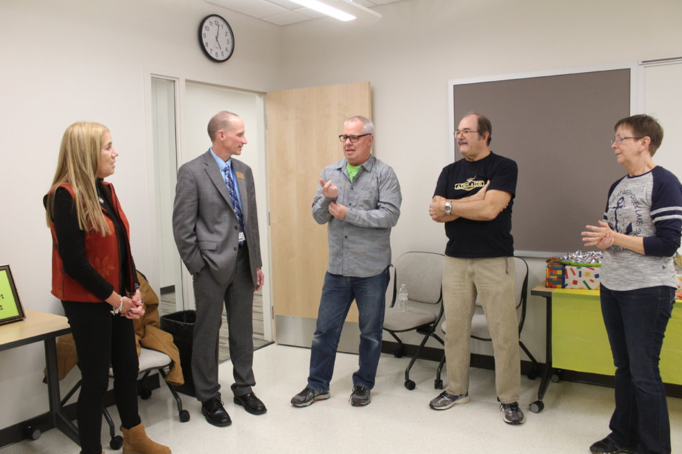 Malone honored with naming in STEM building