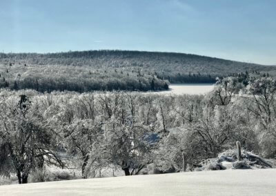 Mary Freese Ice at Deep Creek Lake, MD
