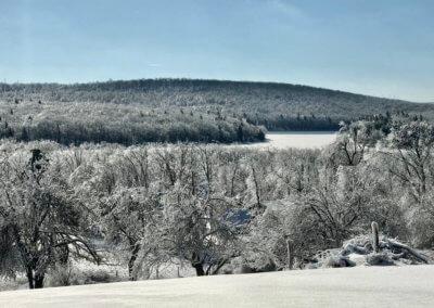 Mary Freese Ice at Deep Creek Lake, MD