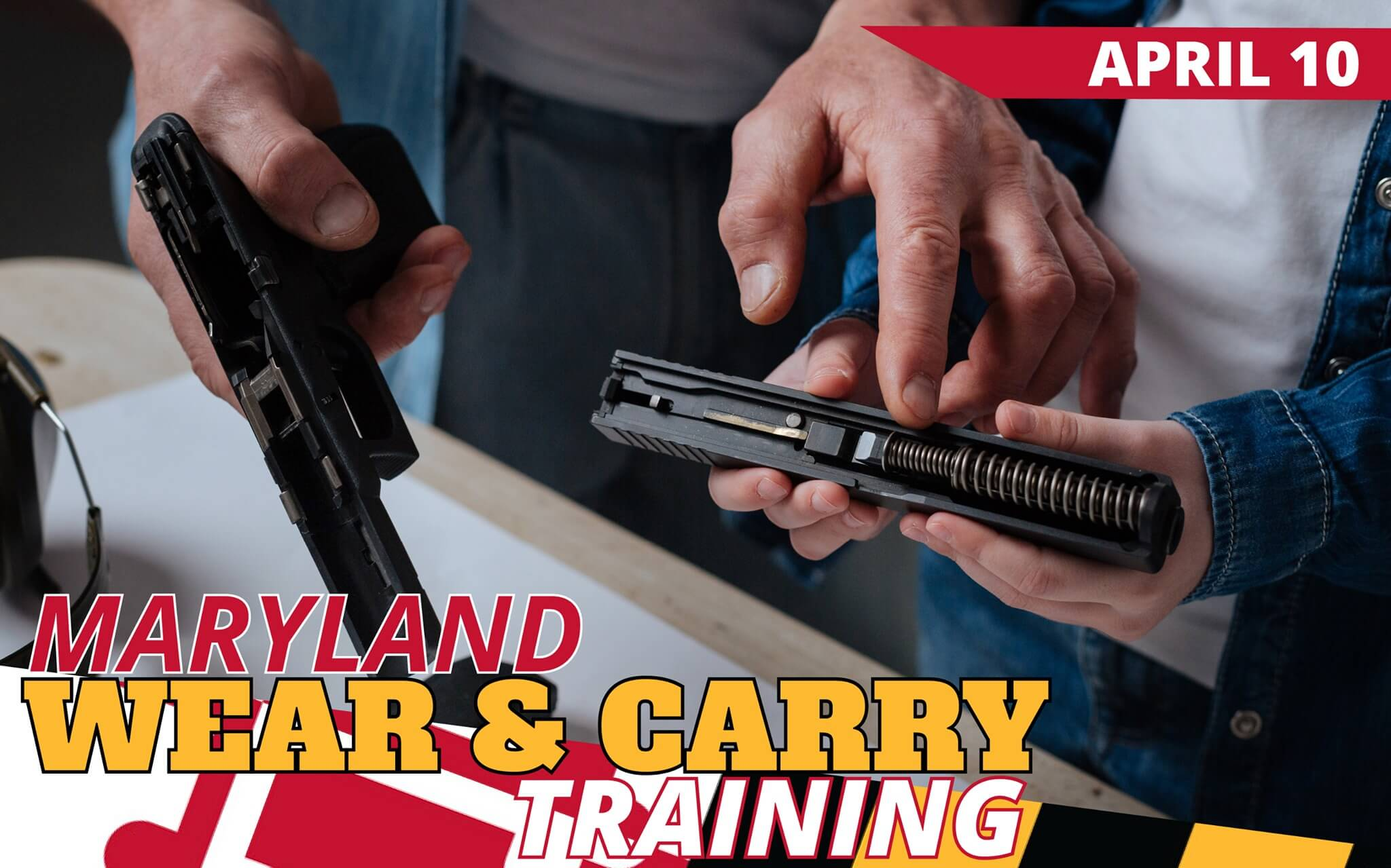 Maryland Wear & Carry Training