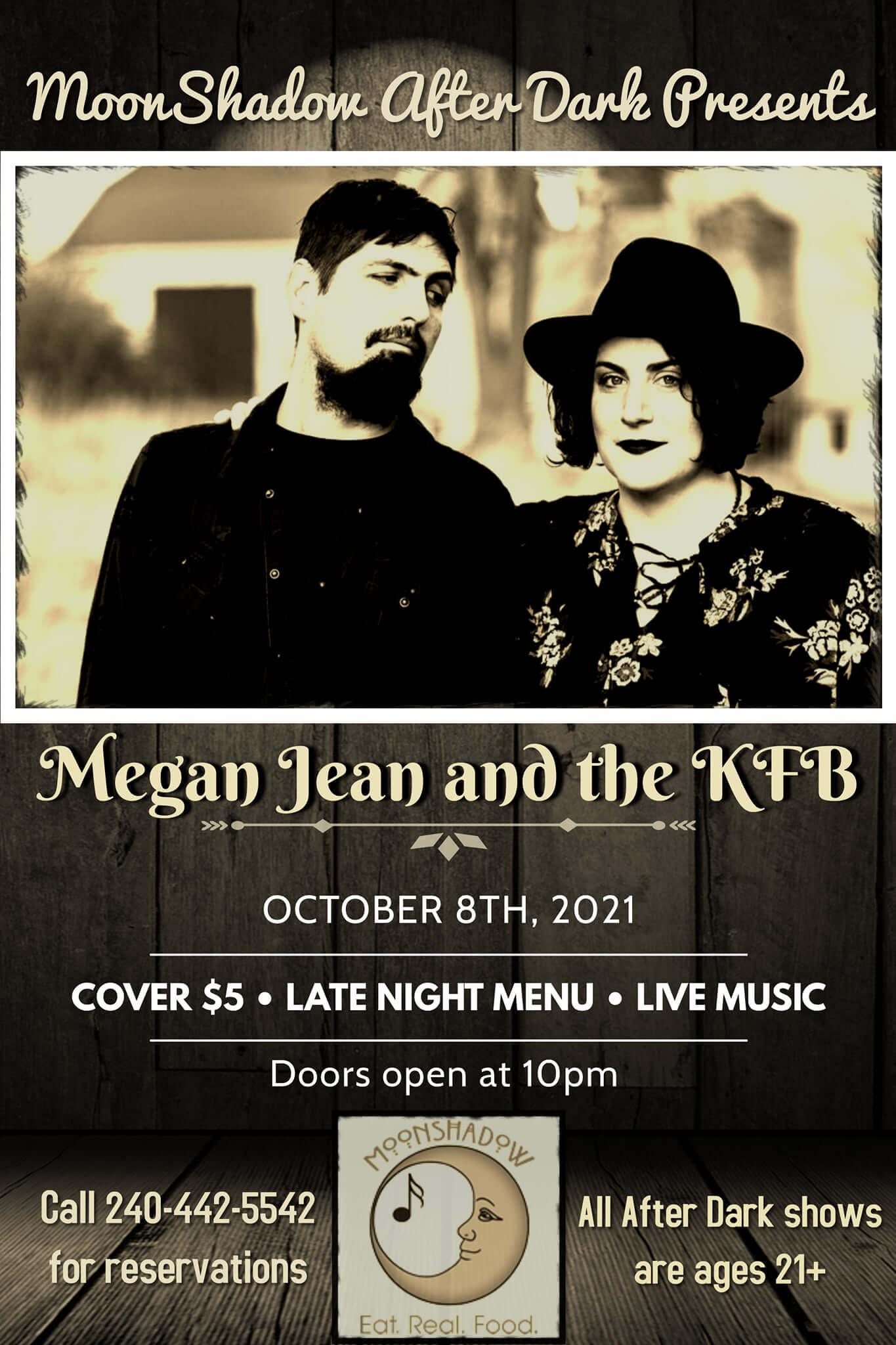 Megan Jean & the KFB at MoonShadow After Dark