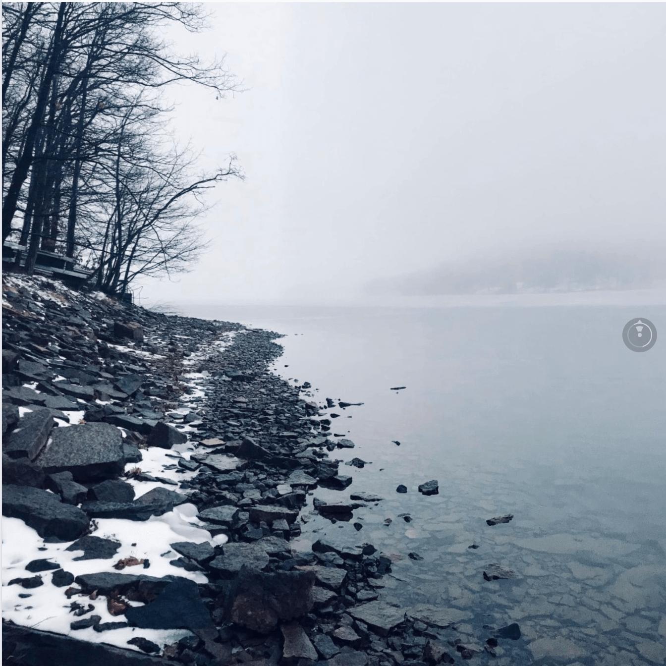 Mike Dailidenas at Deep Creek Lake, MD