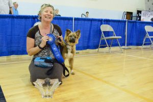 Best in Show: Nancy Beakes with River Rose