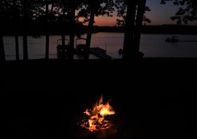 Nicholas DeBello Sunset Bonfire at Deep Creek Lake, MD
