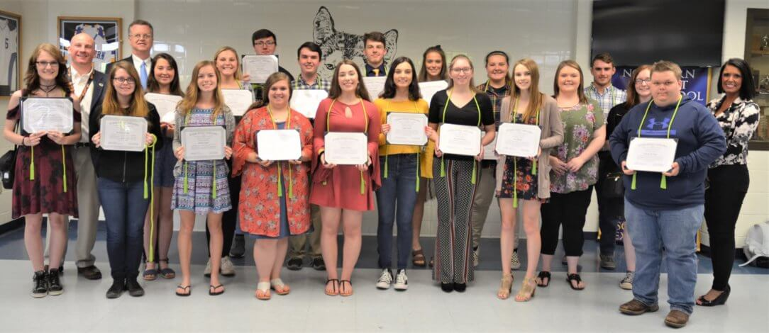 Northern Class of '19 WED Recipients