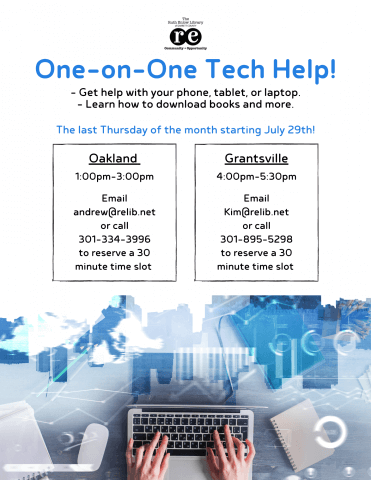 One-on-One Tech Help (Oakland)
