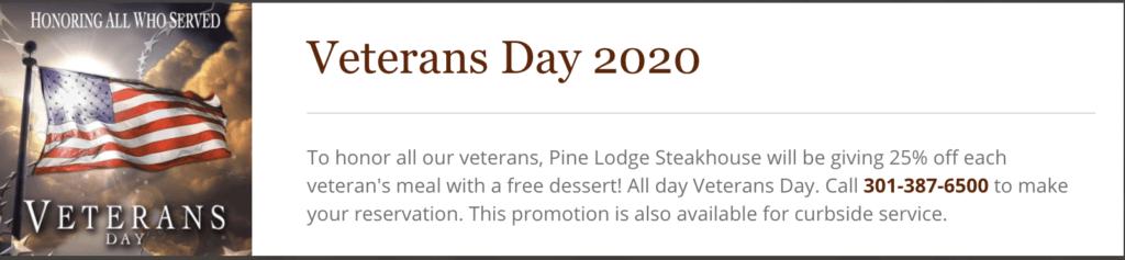 Pine Lodge vet day 2020