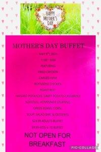 Penn Alps Restaurant & Craft Shop: Mother's Day Buffet