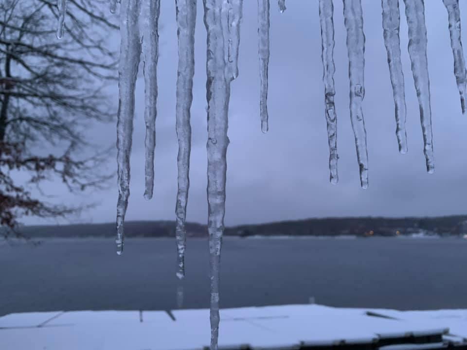 Philip Alexander November Ice at Deep Creek Lake, MD