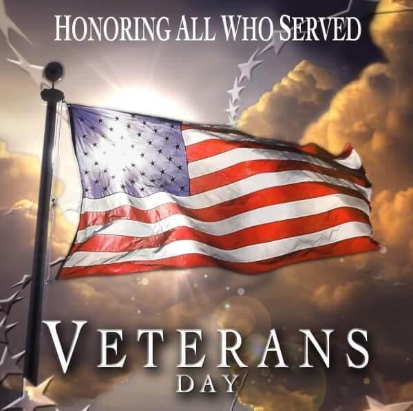 Pine Lodge Steakhouse Veterans Day Promo
