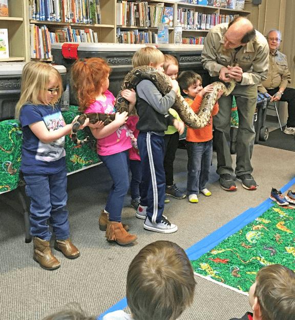 Reptile Wonders at Ruth Enlow