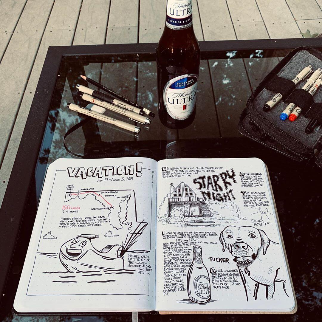 Rob_Dimeo Journals his Deep Creek Lake, MD Vacation