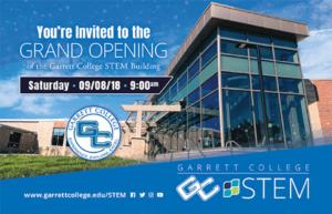 STEM Grand Opening at Garrett College