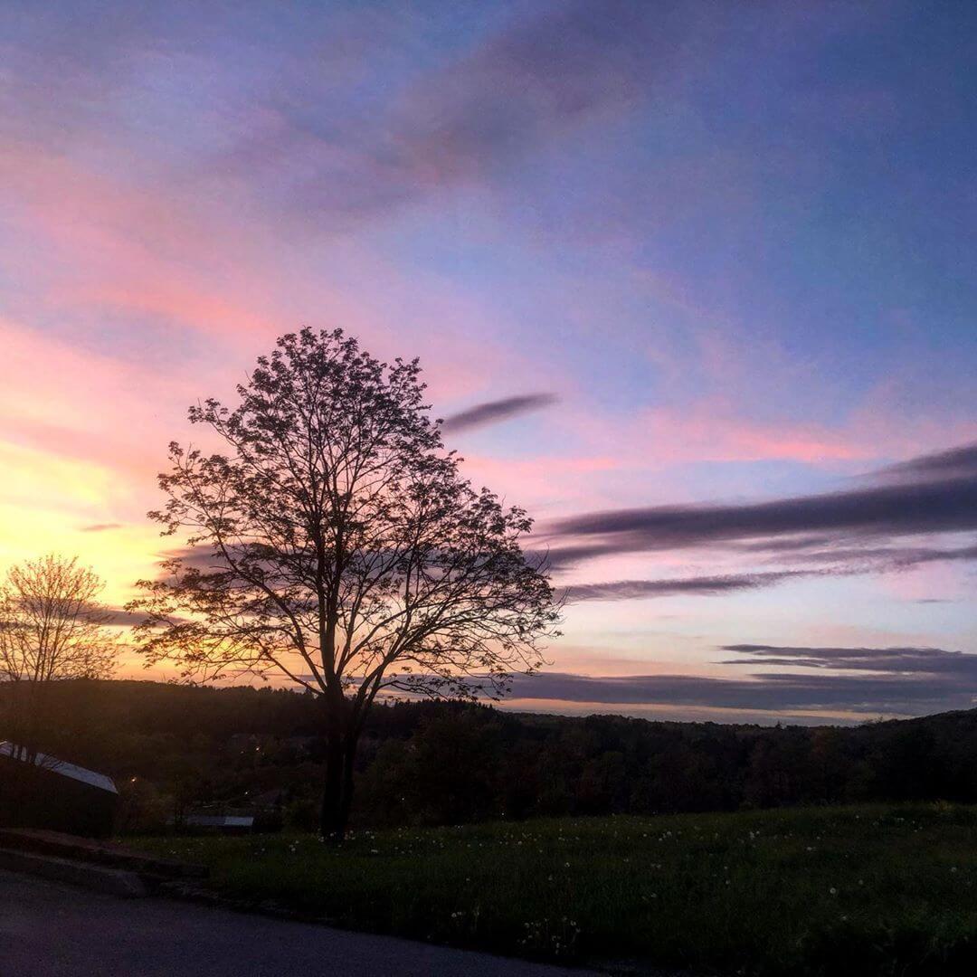 Sunset at Deep Creek Lake, MD