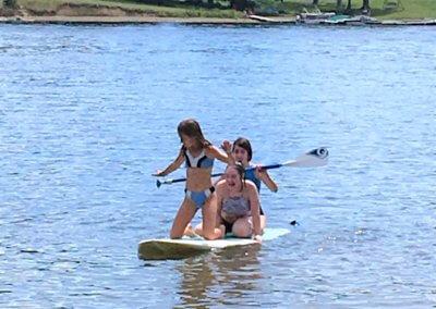 Scon Buccuti Paddleboarding at Deep Creek Lake, MD