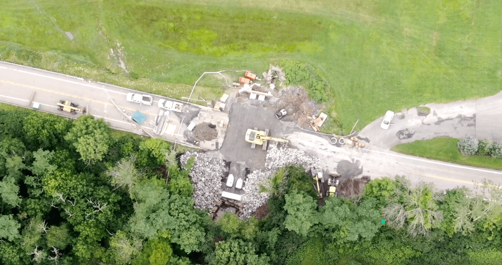 Bill's Aerial Photography - Route 50 Progress