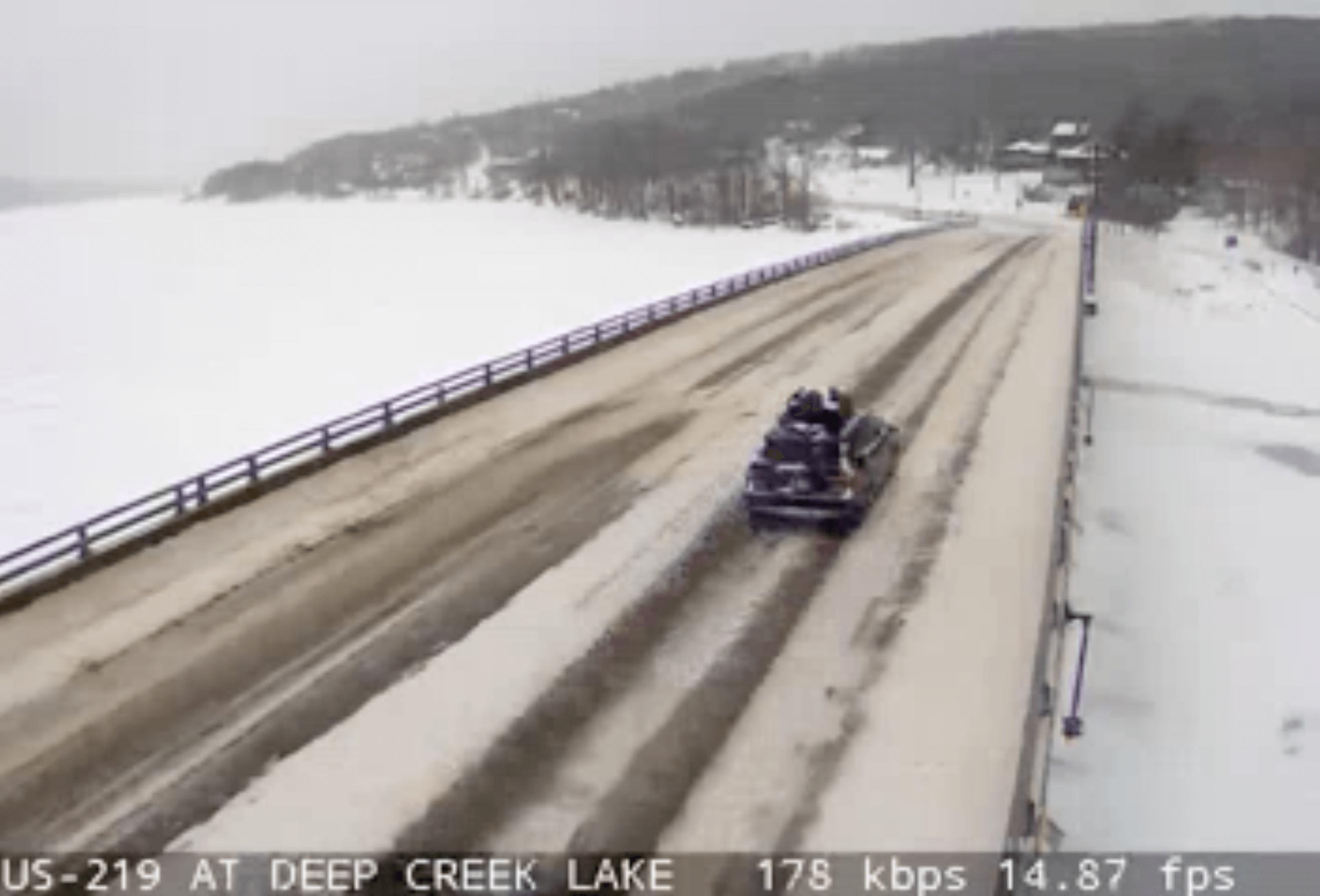 Deep Creek Lake State Highway Cam