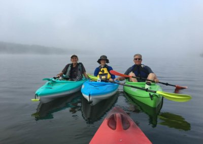 Sean Dobich Kayaking at Deep Creek Lake, MD